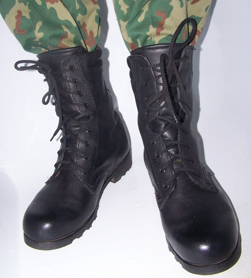 2c19116a5590 В 2007 году правительство России приняло закон о переходе на новую армейскую  форму, в том числе и на армейские ботинки — берцы. Переход с кирзовых сапог  на ...